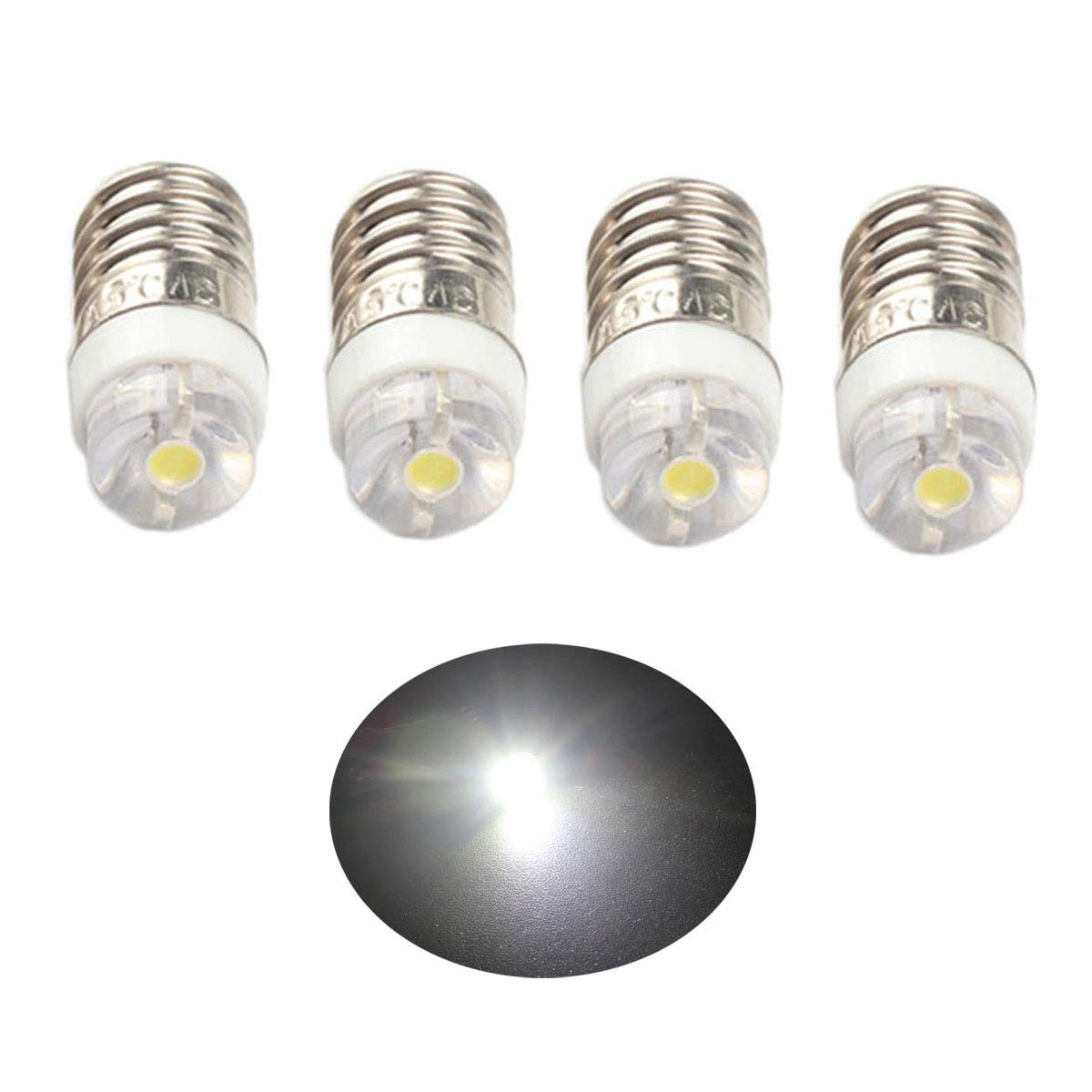 Torch Bulb MES screw in type 2.5V 0.3A pack of two standard bulbs