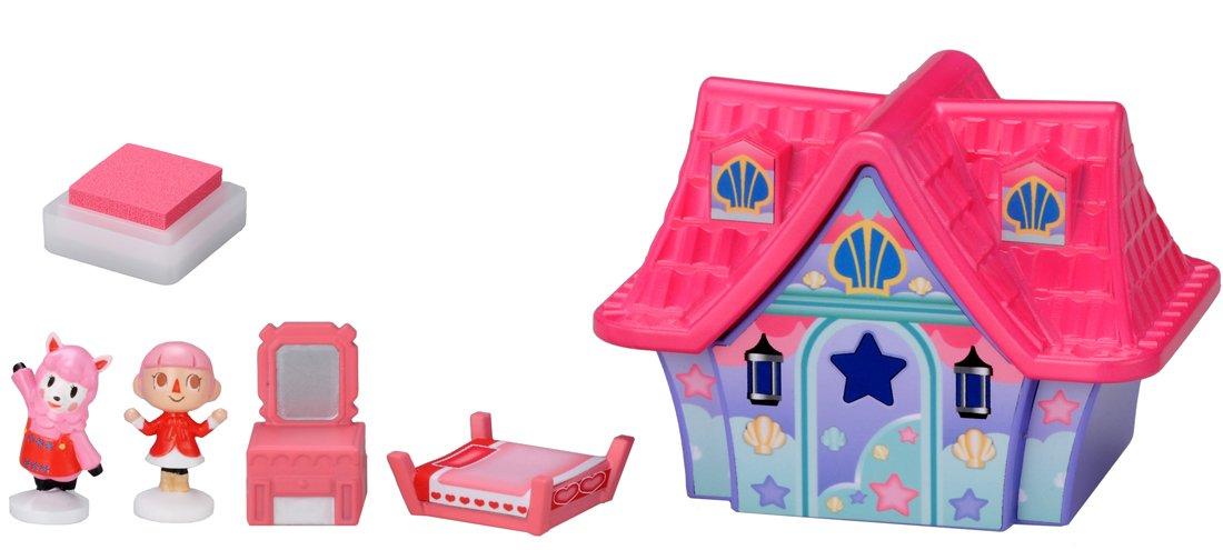 Amazon.com: Takaratomy Animal Crossing New Leaf Girl And Lisa Stamp  Furniture Set: Toys U0026 Games