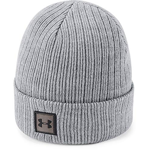 Under Armour Boys Truckstop Beanie 2.0, Steel (035)/Black, One Size Fits All