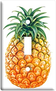 Pineapple - Plastic Wall Decor Toggle Light Switch Plate Cover
