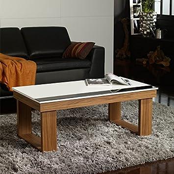 Neuf L Tousmesmeubles Noyer Upto Table 110 Xl Basse 4458 H Relevable 60 X HID2YEW9e
