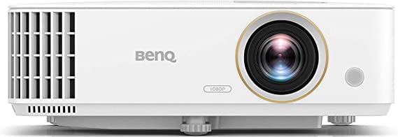 BenQ TH585 1080p Home Entertainment Projector | 3500 Lumens | High Contrast Ratio for Darker Blacks | Loud 10W Speaker | Low Input Lag for Gaming | Stream Netflix & Prime Video