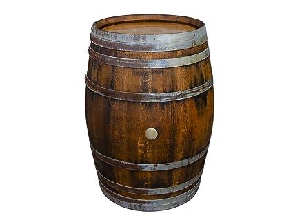 Tisch Weinfass Holz.Amazon De Temesso Stehtisch Tisch Aus Holzfass Gartentisch