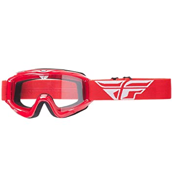Fly Racing 2018 adultos casco de Motocross MX Focus gafas (lente transparente)