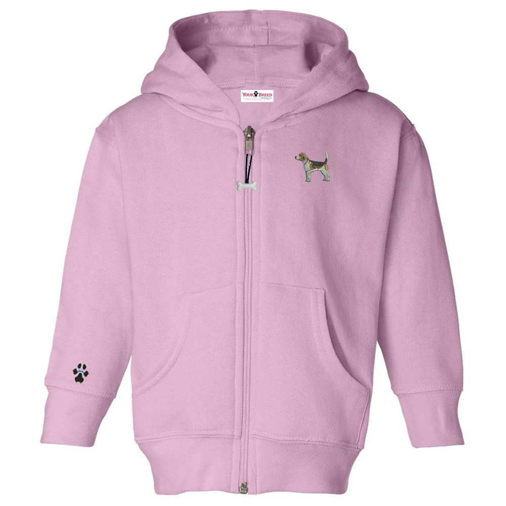 Beagle Toddler Hooded Full-Zip
