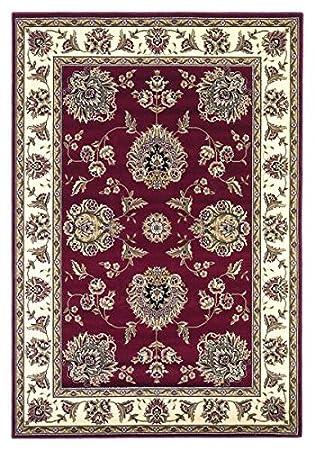 KAS Oriental Rugs Cambridge Collection Floral Mahal Octagon Area Rug, 7u0027 X  7u0026quot;