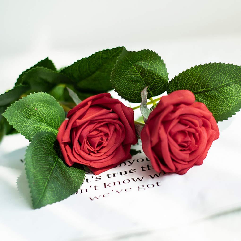 Flor Artificial hidratante Rosa, Sala de Estar Muebles para el ...