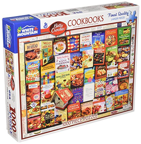White Mountain Puzzles Betty Crocker Cookbooks - 100
