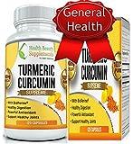 {***ULTRA STRENGTH ***}Turmeric Curcumin With Bioperine,Organic Turmeric Gold Formula With Black Pepper