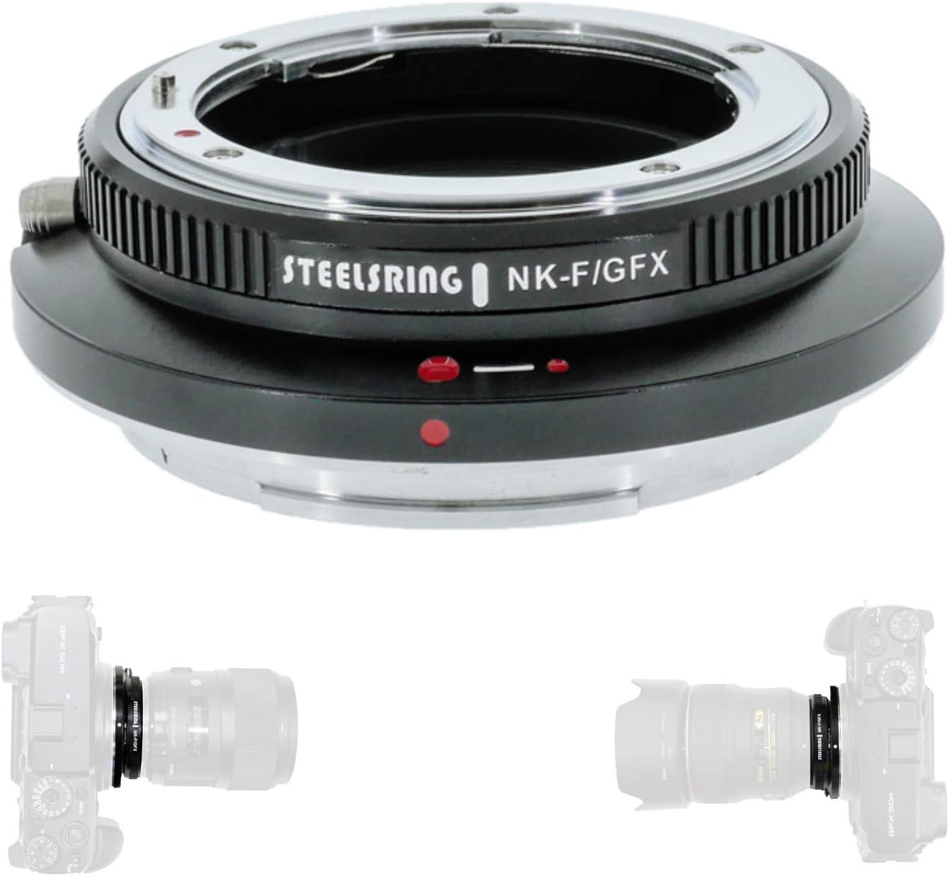 Steelsring Nk F Gfx Auto Focus Adapter Ring Lens Camera Photo