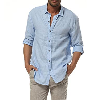 Casual Homme Symbol 320 100Lin Chemise Longues Najia Manches Col Classique K3TFcl1J