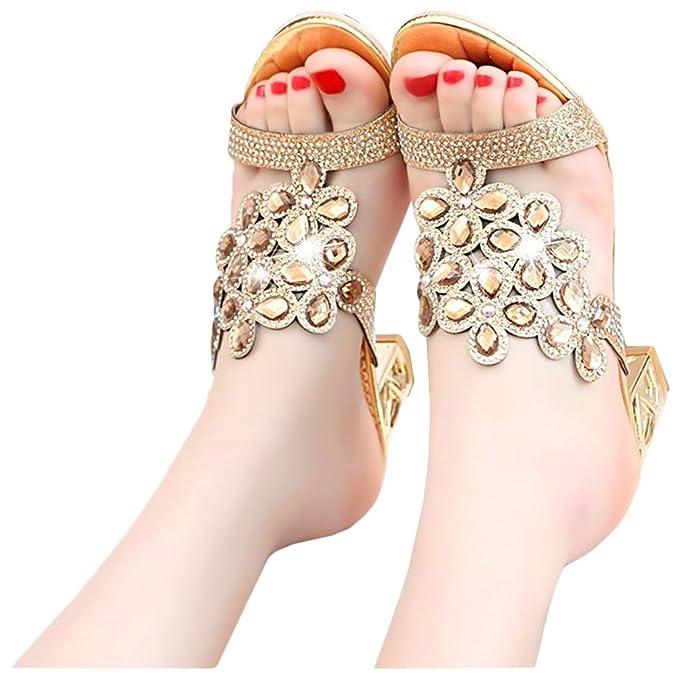 Partiss Damen Sommer Schuhe Sandalen Party Schuhe High Heel Sandalen Abendschuhe Casual Sandalen Outdoor Schuhe...