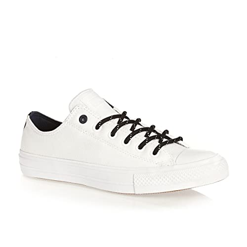 a37e3ee61461 Converse Chuck Taylor II All Star Low Oxford Sneaker Shield Canvas White  (11.5 D(