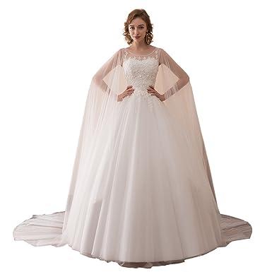 lemondress Women\'s Plus Size Bridal Ball Gown Vintage Lace ...