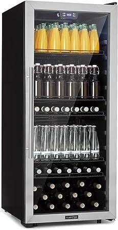 ENFRÍA MEJOR: El refrigerador Klarstein Beersafe 7XL es una nevera compacta con una capacidad de 242