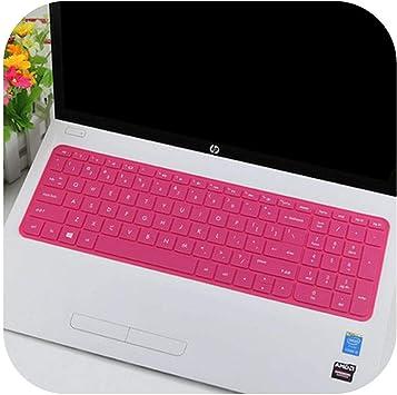 15.6 pulgadas de silicona portátil teclado protector para HP ...