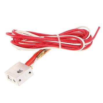 D DOLITY Cable Extrusor Ensamblado Extremo Caliente Cabezal ...
