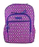 Vera Bradley Women's Campus Backpack Katalina Pink Diamonds Backpack