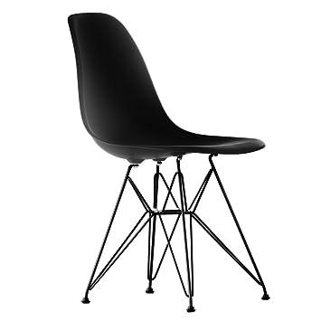 Vitra - Eames Plastic Side Chair DSR (H 43 cm), pulverbeschichtet ...