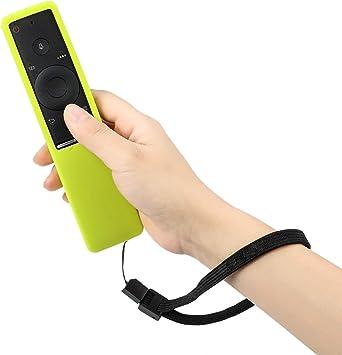 Mwoot Funda para Mando de Samsung 4K UHD Smart TV, Verde Silicona Carcasas para Mando de Smart TV Samsung BN59-01241A BN59-01242A BN59-01292A: Amazon.es: Electrónica