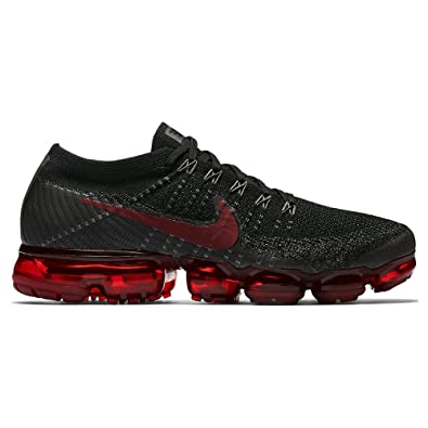 dbbc6557f43b7 Nike Air Vapormax Flyknit Bred Red Black 849558-013 US Size 8.5   Amazon.co.uk  Shoes   Bags