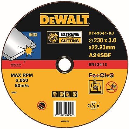 Dewalt DT43641-XJ - Pack de 10 pack de 10 discos abrasivos ...