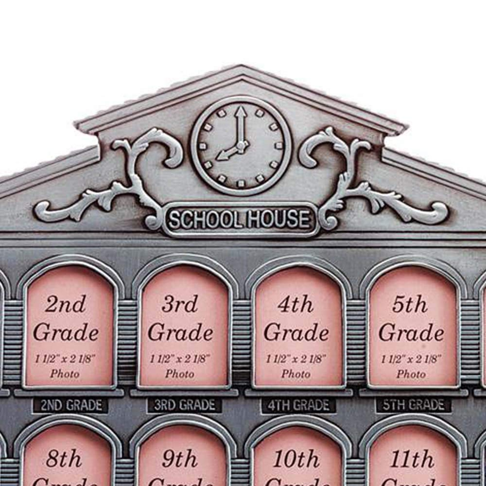 Gifts /& Decor Pewter School House Schoolhouse History Photo Frame