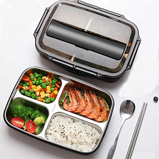 Bento Box de 1,4 l de gran capacidad con diseño de cierre - Caja ...