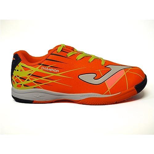 Zapatillas Fútbol Joma Champion JR 808 Naranja Sala: Amazon.es: Zapatos y complementos