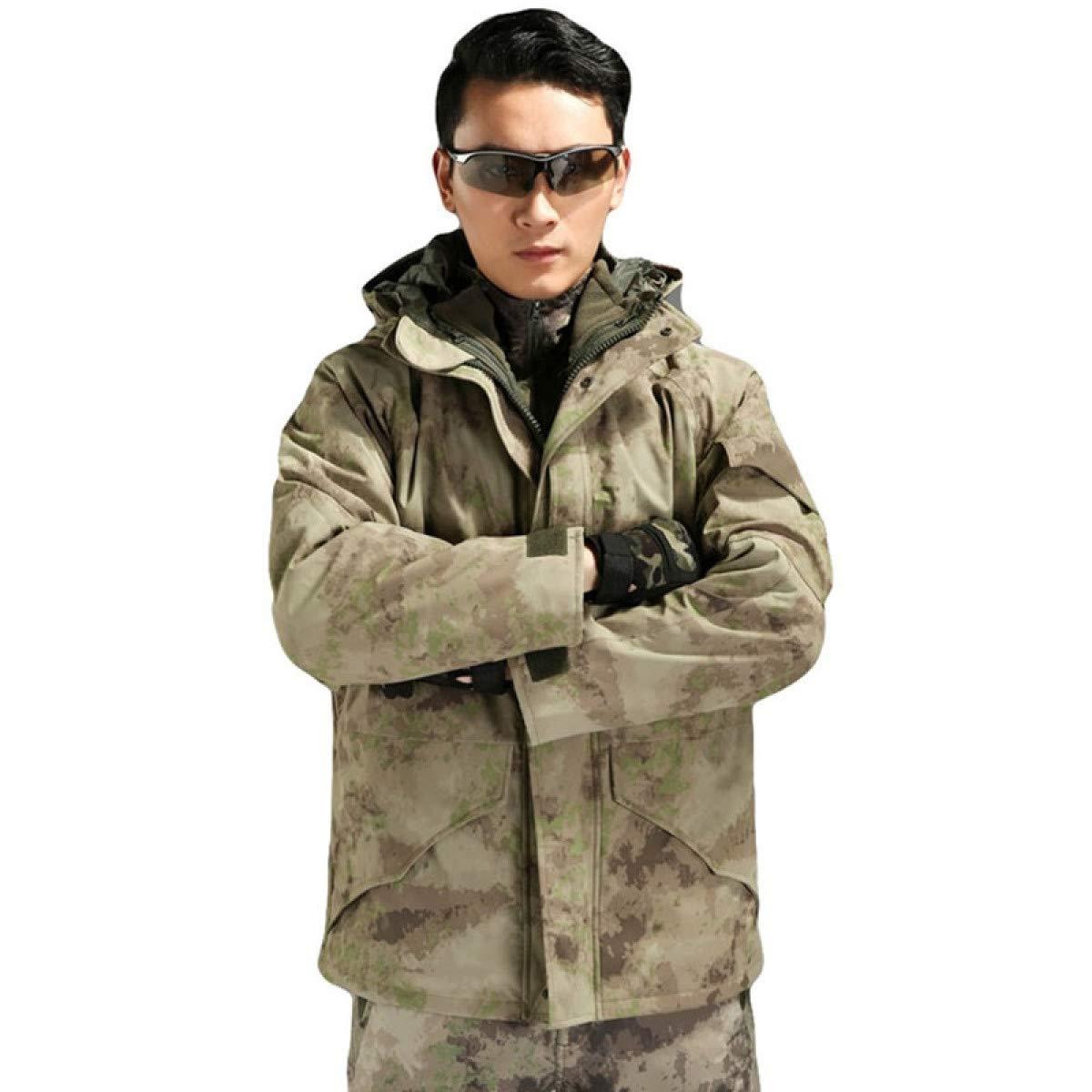 Amazon.com: Chaqueta de camuflaje táctica militar ...