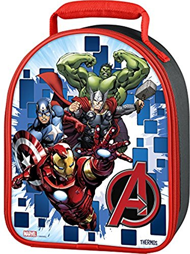 Thermos Novelty Lunch Kit, Avengers 3D Lenticular