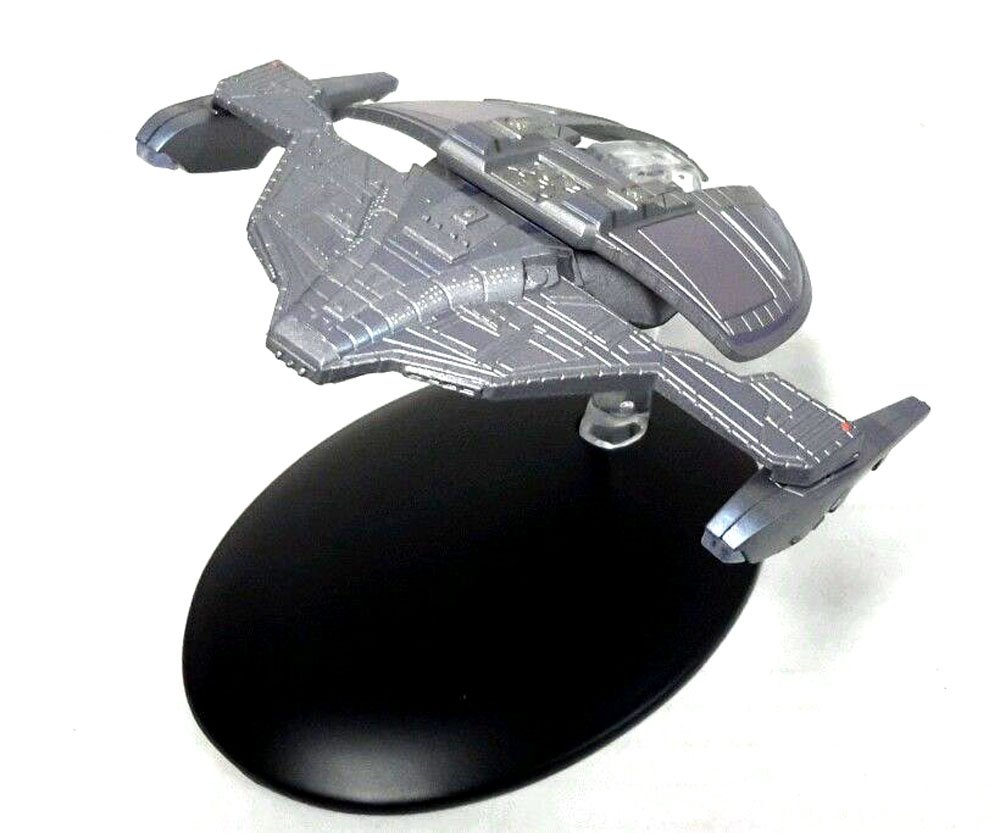 #29 Star Trek JEM'HADAR FIGHTER Die Cast Ship from Eaglemoss with Magazine