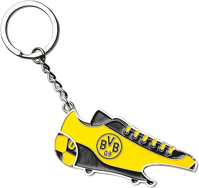 ORIGINAL BVB-Schlüsselanhänger mit Öffner schwarz Borussia Dortmund