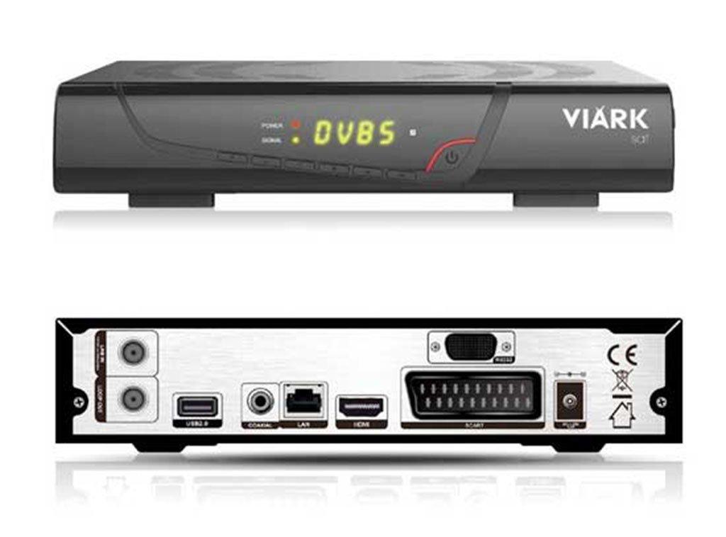 Viark SAT H265 Receptor satélite HD + cable HDMI 2 metros de largo: Amazon.es: Electrónica