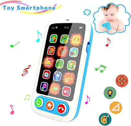 Educational Electronic Learning Toy Toddler Baby iPhone Gift For Kids Boys Gals