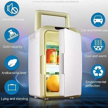 WERT 12L Mini Liviana Refrigerador Y Calentador Portátil De Coche ...