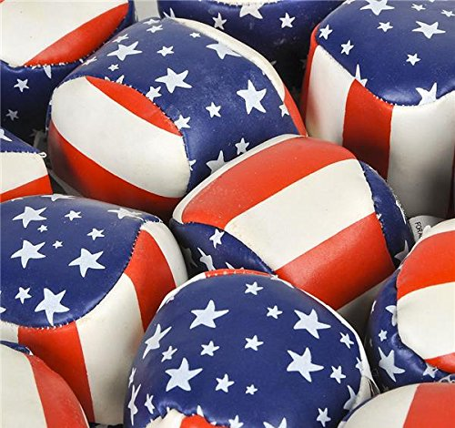 2'' STARS AND STRIPES FOOTBAG, Case of 288 by DollarItemDirect (Image #2)