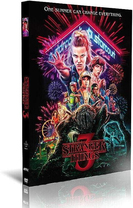 Stranger Things Temporada 3 (DVD, 2019, Juego de 3 Discos): Amazon.es: Electrónica
