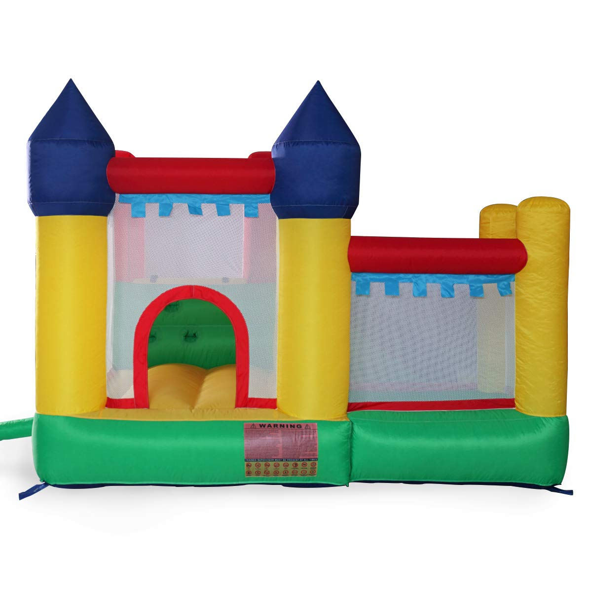 Kids Inflatable Bounce House Castle Jumper Slide Moonwalk Without Blower by BWM.Co (Image #2)