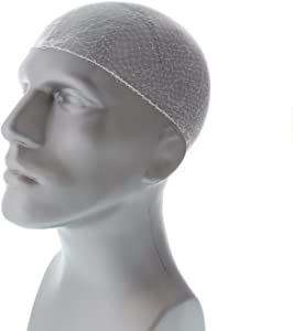 Royal 24 Inch White Light Weight Hairnet, Disposable and Latex Free, Package of 144