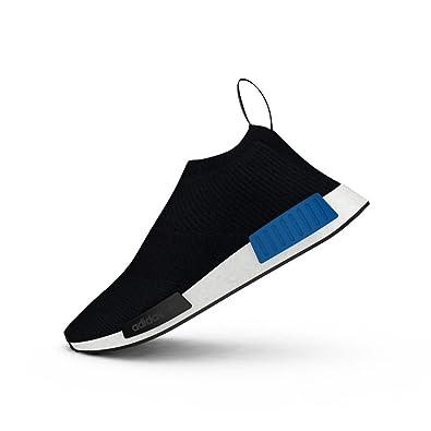 pretty nice 382eb 8d5b0 Amazon.com | NMD City Sock 1 Prime Knit S79152 black/ white ...