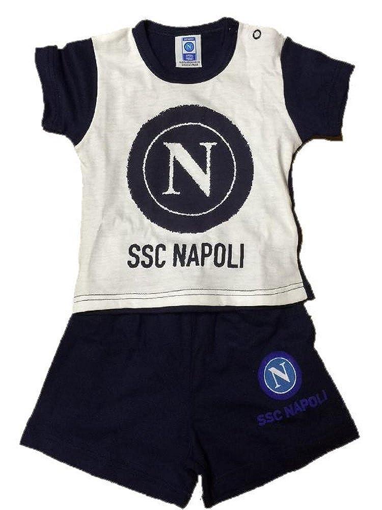 Vari Completo neonato 2 pezzi SSC Napoli calcio PS 19569