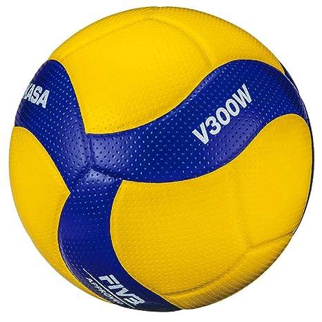 MIKASA V300W - Balón de Voleibol, Color Azul, Talla 5: Amazon.es ...