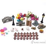 10X Miniature Mushroom Fairy Garden Ornament Dollhouse Pot Decor DIY Craft VB