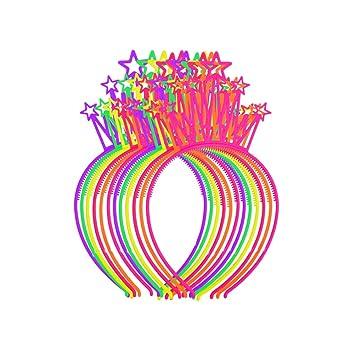 Amosfun 12Pcs Corona de Princesa para Cumpleaños de Niña ...