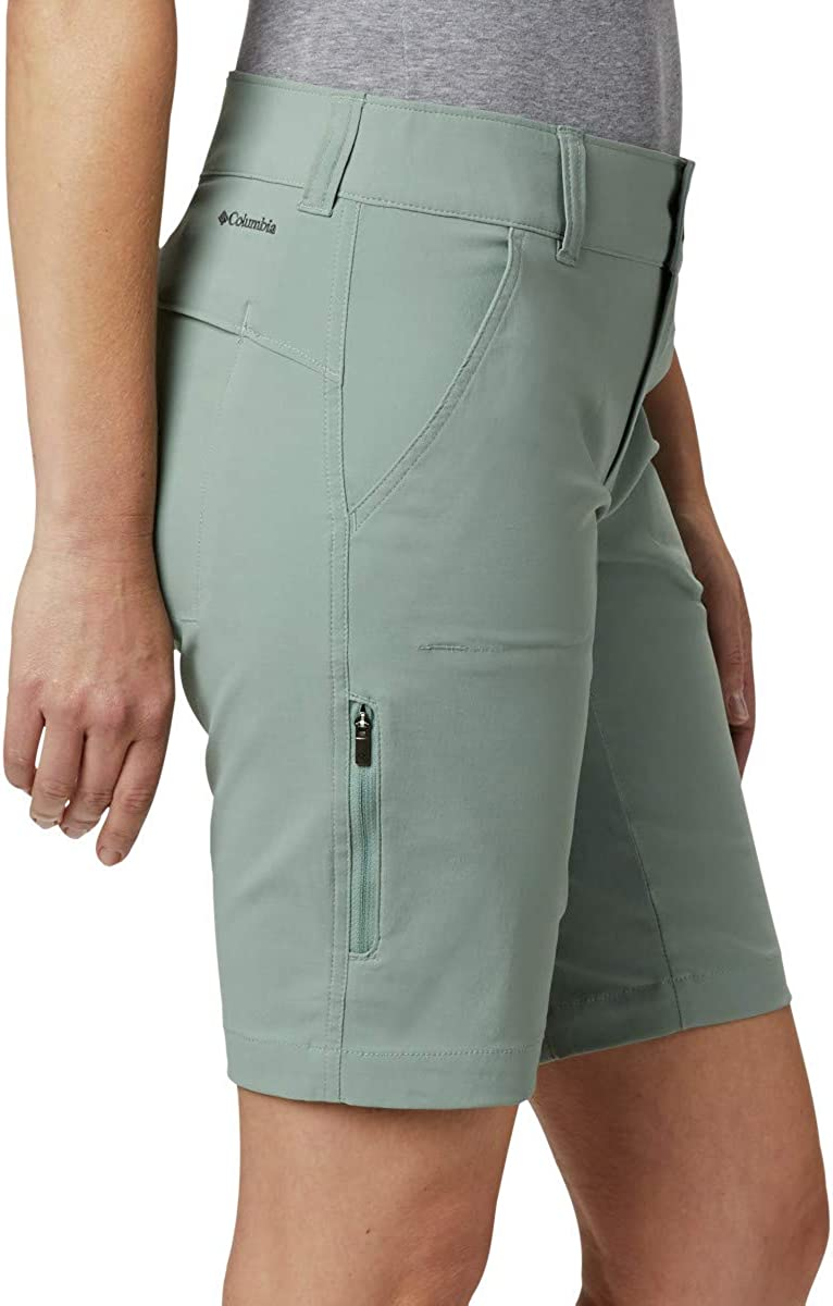 Water /& Stain Resistant Saturday TrailTM Long Short Mujer Columbia Saturday Trail Pant