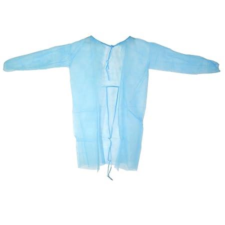 PP - Vestidos de visitante Vestidos de protección Medi-Inn 115 x 137 cm 10-pc varios colores - Azul, 115 x 137 cm: Amazon.es: Salud y cuidado personal