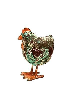 Poule En Fer Forge Animal De Jardin Deco Collection Animal