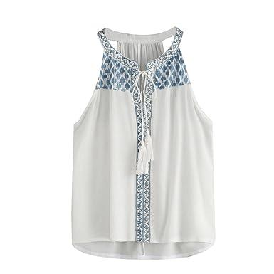 Hengshikeji Clearance Women Lace Tank Crop Tops Casual Sleeveless Blouse  Cami Shirts Vest Teen Girls Tunic