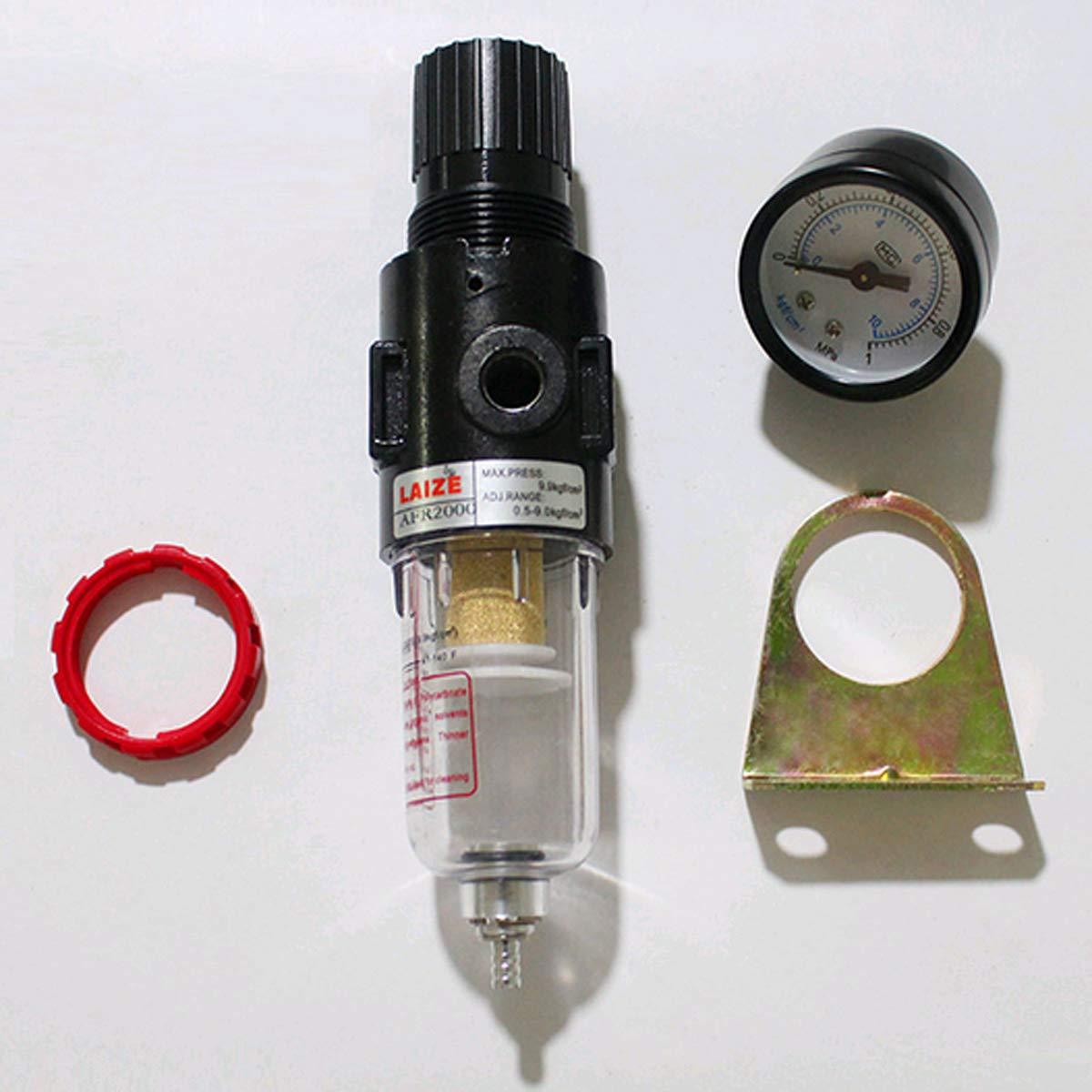 Mengger Filtre /à Air R/égulateur De lhumidit/é Pression S/éparateur Dhuile Pi/ège Dhumidit/é Compresseur Leau Graisseur